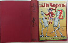 L. FRANK BAUM The Tin Woodman of Oz FIRST EDITION FIRST STATE