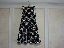 NWT JANIE AND JACK CLASSIC CHIC GIRLS TWEED PLAID JUMPER DRESS 8