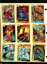 1991 Impel Marvel Universe Series 2 Set of 162 Cards Near Mint Condition