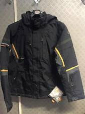 Ice Peak Ski Jacket - Childs age 15/16 176cm RRP £85 BLACK NEW
