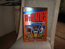 """AUTHENTIC """" WHEATIES BOX 30TH ANNIVERSARY SUPERBOWL COLLECTOR'S EDITION"""