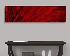 Contemporary Abstract Metal Wall Art Home Decor - Inferno by Jon Allen
