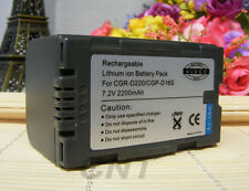 Li-Ion Rechargeable BATTERY Pack for PANASONIC CGR-D16S