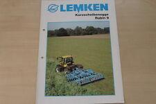 158075) Lemken Kurzscheibenegge Rubin 9 Prospekt 02/2005