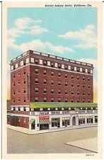 Daniel Ashley Hotel in Valdosta GA Postcard