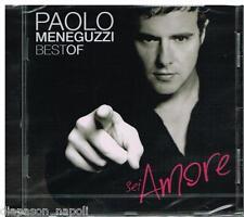 Paolo Meneguzzi: Best of.. sei amore - CD