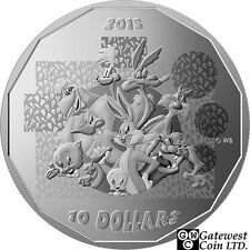 2015 $10 Fine Silver Coin-Looney Tunes(TM) ''That's All Folks!'' (17517)