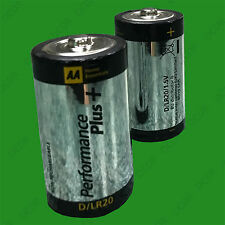 2x Heavy Duty 1.5v D R20 Battery Batteries, Suitable for Torches, Toy, Radio etc