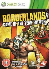 BORDERLANDS  - EDITION GAME OF THE YEAR        - GOTY  -   pour X-BOX 360