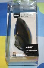 NEW Anker 2.4G Wireless Vertical Ergonomic Mouse, 800/1200/1600DPI, 5 Button
