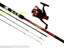 Shakespeare Firebird  Carbon Quiver /  Feeder Fishing Rod ,Reel with Line Fitted