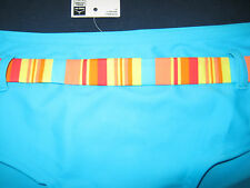 F&F  LADIES BINIKI SWIMWEAR BOTTOM SIZE 10 BLUE NEW TAG
