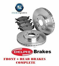 FOR LEXUS GS460 GS300 450H 430 2005  FRONT + REAR DELPH BRAKE DISCS AND PADS KIT
