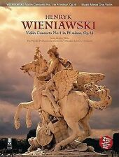 Wieniawski - Concerto No. 1 in F-Sharp Minor, Op. 14: 2-CD Set, New,  Book