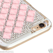 "iPhone 6 (4.7"") Snap Fit Back Cover 3D Bling Gem Case Pink Diamond"