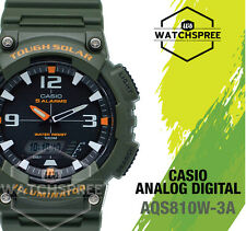 Casio Analog Digital Tough Solar Watch AQS810W-3A AQ-S810W-3A