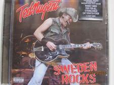 Ted Nugent - Sweden rocks CD 2008  new