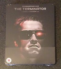 THE TERMINATOR Blu-Ray SteelBook Zavvi UK Exclusive 1/1000 Region Free New Rare!