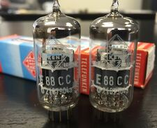 E88CC TELEFUNKEN NOS BOXED MATCHED PAIR    VALVES/TUBES