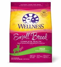 Wellness  Dry Dog Food, Adult Small Breed Health Recipe, 12-Pound Bag , New, Fre