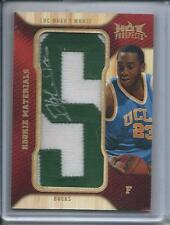 2008-09 Fleer Hot Prospects Rookie Materials Letter Patch Luc Mbah A Moute