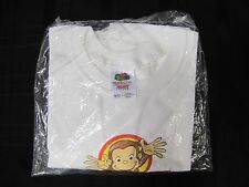 CURIOUS GEORGE LIVE ON STAGE MONKEY AROUND HANES T SHIRT TSHIRT TOP UNISEX 10 12
