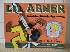 Li'l Abner  Al Capp Volume 2 Dailies: 1936 Kitchen Sink Press (BH3)