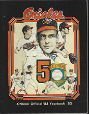 Baltimore Orioles 1983 Official Team Yearbook
