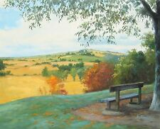 "Summer has gone, original oil painting by Andrey Stas 24x30"" 62x77 cm w/o frame"