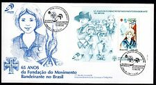 Brazil-1984-FDC (First Day Cover)-Commemorative Stamp-Bandeirante-Lot 508