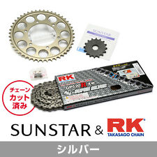 SUNSTAR Front/Rear Sprocket & Chain/Rivet Joint Set HONDA CB400SF