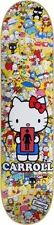 Girl Mike Carrol Hello Kitty skateboard deck, 8.12 x 31.65 Sanrio, hard to find