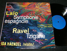 IDA HAENDEL Lalo & Ravel / Czech Stereo LP 1964 reissue 1974 SUPRAPHON 50615