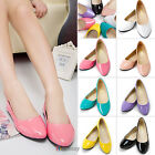 Women Girls Casual Boat Slip On Flats Loafer Ballet Dolly Pump Lazy Single Shoes