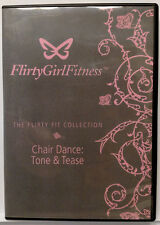 Flirty Girl Fitness: Flirty Fit Collection Chair Dance Tone Tease (DVD, 2008) NM