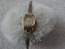 Vintage Timex 17 Jewels Wind Up Ladies Watch - Runs Fast