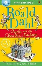 Charlie and the Chocolate Factory (Book & CD), Roald Dahl, New condition, Book