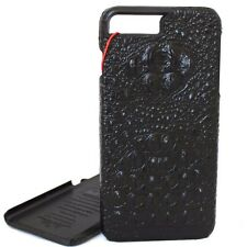 genuine leather Case for apple iphone 7 plus crocodile wallet slim cover luxury