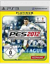 Playstation 3 PRO Evolution SOCCER 2012 Deutsch PES Neuwertig