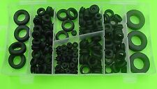 181x Rubber Grommet Auto Marine Electrical Wire Firewall Assortment Kit NOS