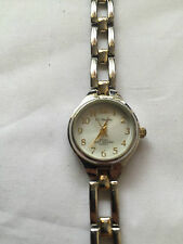 CC Hughes Ladies Gold & Silver Tone Bracelet Band Quartz Watch