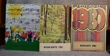 3 Paperback Annuals Yearbooks Fairview Elementary Heiskell TN 1975 1980 1981