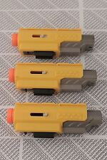 Lot of 3 - Nerf N-Strike Red Dot Laser Tactical Light Scope Attachment Yellow