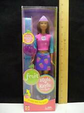 Mattel Barbie Doll Fruit Style Kayla Friend of Barbie Strawberry Scented Doll NI