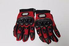 Red Pro Biker MotoCross Gloves XXL Moto Sports Gear 28cm ll inch