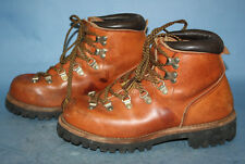 VTG 70s RED WING IRISH SETTER LEATHER TRAIL/HIKING/MOUNTAINEERING BOOTS sz 6 C