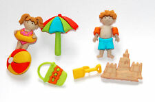 Day at the Beach Buttons / Jesse James Dress It Up Buttons / Sand & Beach Toys