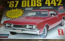 LINDBERG 1967 OLDS 442 HT 1/25 Model Car Mountain KIT FS