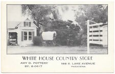 Postcard White House Country Store in Pasadena, California~104393