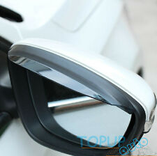 FITFOR 12- VW JETTA PASSAT B7 CC SIDE DOOR MIRROR RAIN GUARD VISOR SHADE SHIELD